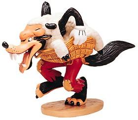 WDCC Disney Classics_Three Little Pigs Big Bad Wolf I'm A Poor Little Sheep