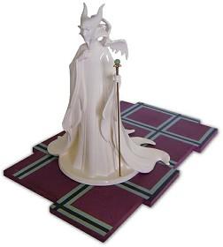 WDCC Disney Classics_Sleeping Beauty Maleficent (whiteware) Evil Enchantress