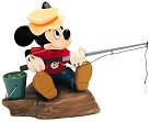 WDCC The Simple Things Mickey Mouse Somethin Fishy