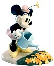 WDCC Mickey Cuts Up Minnies Mouse Garden