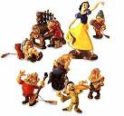 WDCC Snow White And The Seven Dwarfs Ornament Set