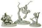 WDCC Tarzan Tantor and, Terk Maquettes (matched numbered Set)