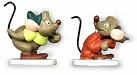 WDCC Cinderella Gus And Jaq Miniatures One Mouse Or Two