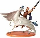 WDCC Hercules And Pegasus Defiant