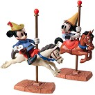 WDCC Brave Little Taylor Mickey And Minnie Mouse Carousel Sweethearts