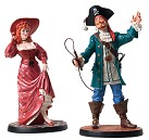 WDCC Pirates Of The Caribbean Auctioneer And Redhead