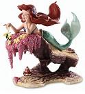 WDCC The Little Mermaid Ariel and Sebastian He Loves Me, He Loves Me Not