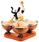WDCC Symphony Hour Donald Duck Donald's Drum Beat