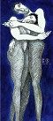 Charles Bibbs - Blue Passion - Giclee