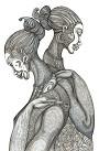 Charles Bibbs - Mystic Girls Giclee Artist Proof