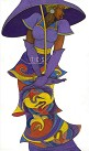 Charles Bibbs - The Purple Umbrella Giclee