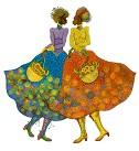 Charles Bibbs - Sunflower Girls Giclee Artist Proof