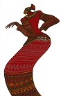 Charles Bibbs - Lady In Red Limited Edition