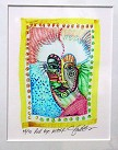 Charles Bibbs - Red Eye Mask Giclee