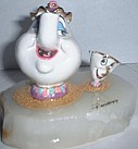 WDCC Ron Lee Beauty And The Beast Mrs Potts & Chip (ltd 1500)