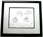 WDCC The Lion King Timon Original Production Drawing