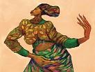 Charles Bibbs - Dancing Hands Remarque  (graphite) Giclee