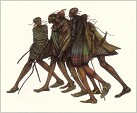 Charles Bibbs - Herdsticks And Sandals (hand Painted)
