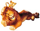 WDCC The Lion King Simba And Mufasa Pals Forever