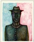 Charles Bibbs - Thin Man #2 Giclee