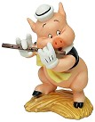 WDCC Three Little Pigs Fifer Pig I Toot My Flute I Don't Give A Hoot